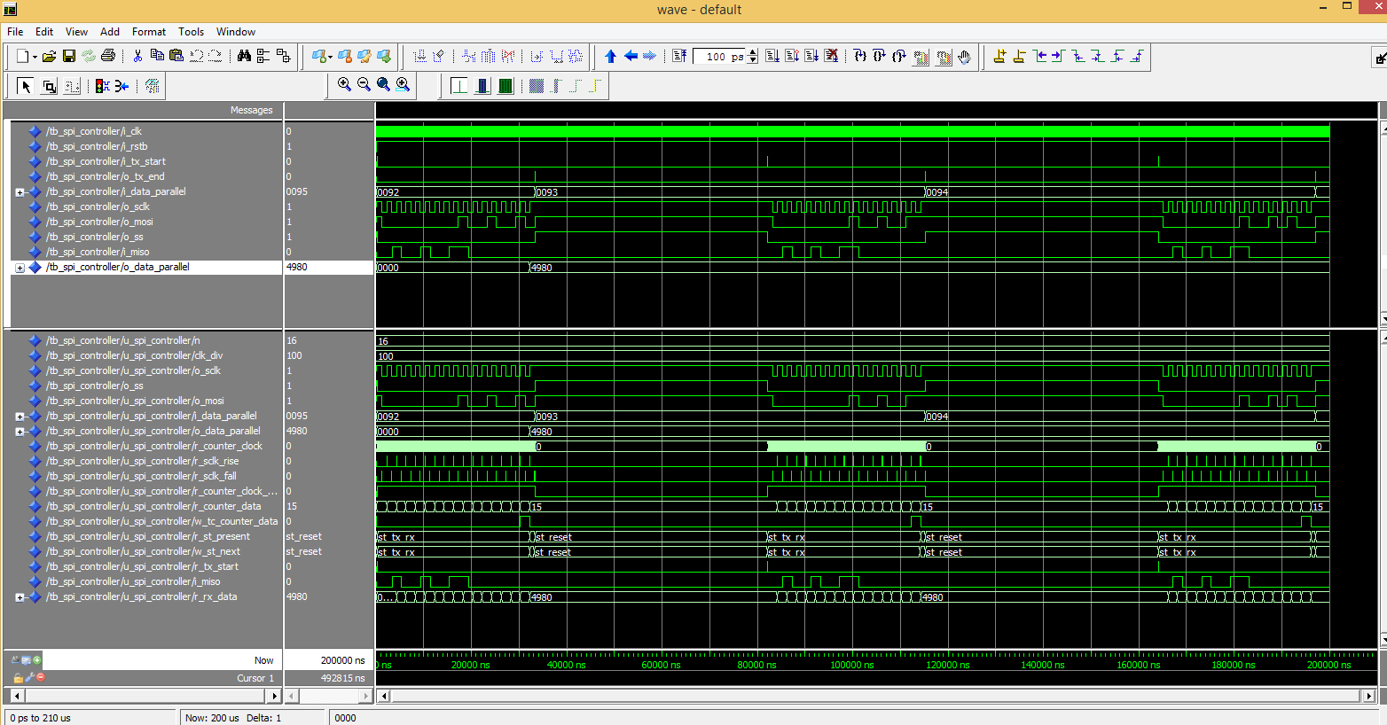 How to Design SPI Controller in VHDL - Surf-VHDL