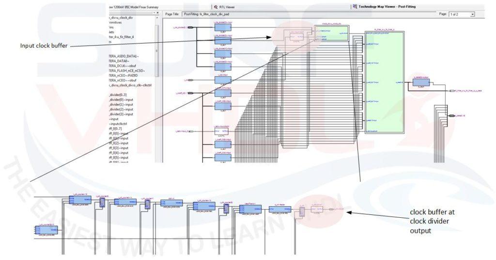 Figure – Mapper view for fir_filter_clock_div_pad module