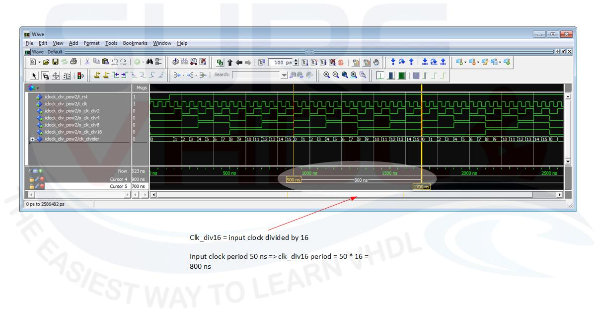 How To Implement Clock Divider in VHDL - Surf-VHDL
